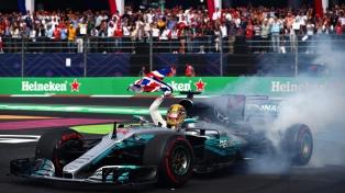 Hamilton ganó el Gran Premio de Azerbaiyán