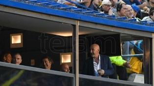 Sampaoli estuvo en la Bombonera para ver a futbolistas boquenses