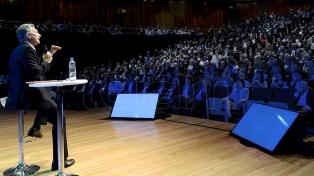 Macri presenta las propuestas sobre un conjunto de políticas públicas