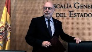 El cuerpo del fiscal general español será trasladado el lunes a Madrid