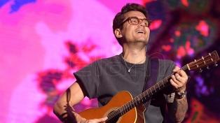 El temporal cortó la noche de buena música y rock que brindaba John Mayer en el Hipódromo