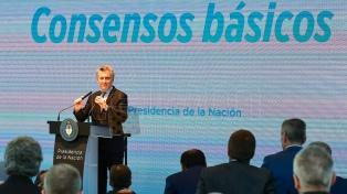 Gobernadores opositores expresaron su respaldo a los ejes lanzados por el Presidente