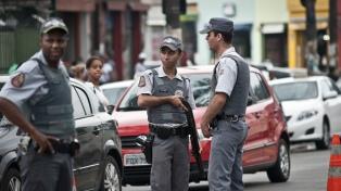 Al menos 10 muertos en un asalto comando a dos bancos en San Pablo