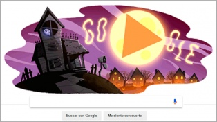 Google le dedica  un doodle a Halloween