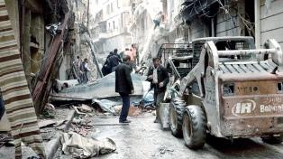 Se inició la evacuación de pacientes graves de Ghouta Oriental, cerca de Damasco