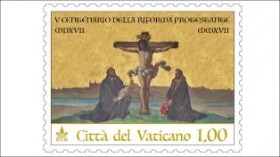 Lanzarán una estampilla para conmemorar los 500 años de la reforma de Martín Lutero