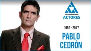 Famosos despiden en las redes sociales a Pablo Cedrón
