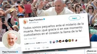 Francisco envió un mensaje en el día de los fieles difuntos