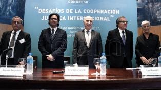 Garavano y Peña se reúnen con los miembros de la Corte Suprema de Justicia