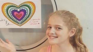 Una niña que espera un trasplante motoriza una nueva campaña para promover la donación de órganos
