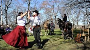 La cultura criolla celebra su fiesta en San Antonio de Areco