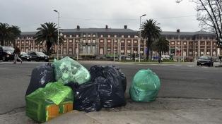 Mar del Plata amaneció otra vez con basura en la calle