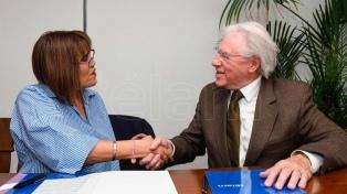 Télam firmó un convenio con el Instituto Nacional de las Mujeres para combatir la violencia de género