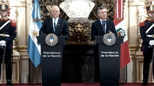 Macri y Kuczynski hablaron del acercamiento entre Mercosur y Alianza del Pacifico