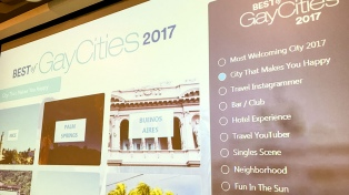 Buenos Aires fue nominada al premio de las mejores ciudades para el turismo gay