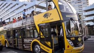 El ómnibus turístico de la ciudad de Buenos Aires ya paseó a un millón de personas