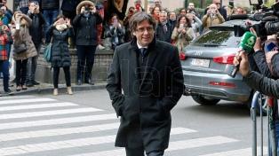 Puigdemont declarará el 17 de noviembre ante el juez belga que decidirá su extradición
