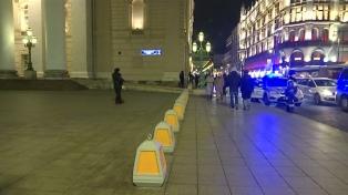 Evacuan el Teatro Bolshói en Moscú por una amenaza de bomba