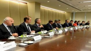 Macri almorzó con más de una docena de CEOs de empresas líderes a nivel mundial