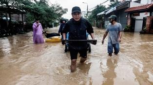 Devastador paso del huracán Damrey por la región central del país