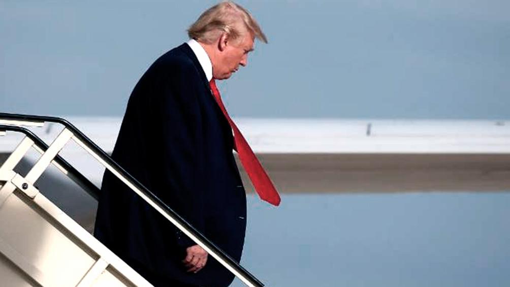 Trump llegó a Francia para participar de la cumbre del G7