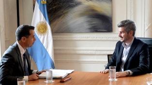 Peña recibió a un fiscal de EEUU que investiga lavado de activos y financiamiento del terrorismo
