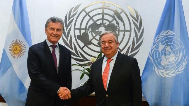 Resultado de imagen para Macri pidio una salida democratica en Venezuela