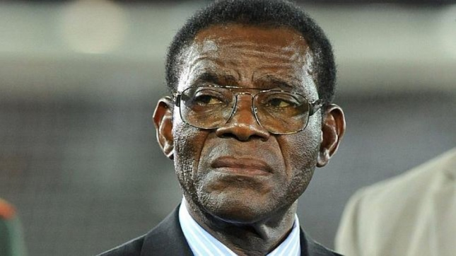 Teodoro Obiang, presidente de Guinea Ecuatorial y líder del PDGE