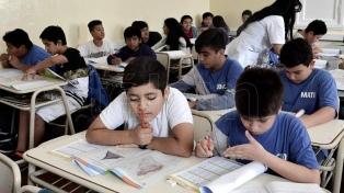 Más de un millón de alumnos rinden las pruebas Aprender