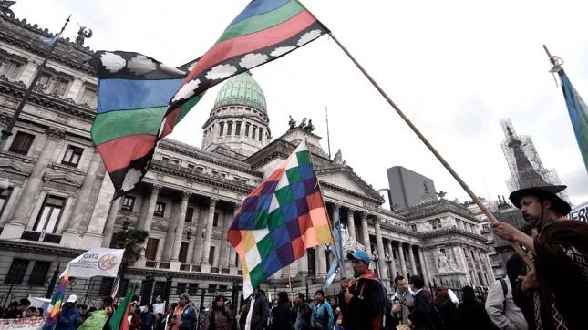 Diputados aprobó la suspensión de los desalojos a pueblos originarios