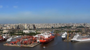 Invertirán US$ 1600 millones en el puerto de Buenos Aires