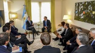 Macri se reunió con el líder de la Cámara de Comercio de Estados Unidos en Argentina