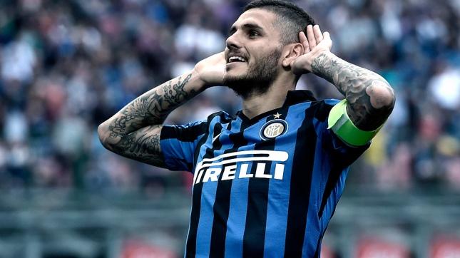 Mauro Icardi fue el héroe en la victoria del Inter de Milan