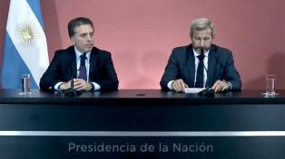 Triaca, Frigerio y Dujovne defenderán las reformas en el Senado