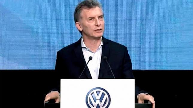 Macri y Vidal anunciaron inversión de US$ 650 millones en Volkswagen