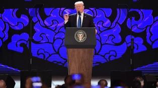 Trump quiere avances y no más provocaciones con Corea del Norte