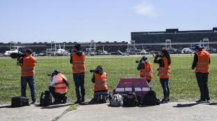 El Aeroparque Jorge Newbery abrió sus pistas a fotógrafos