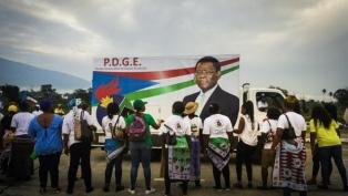 Se celebraron elecciones legislativas y municipales en la antigua Guinea Española