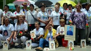 Madres de desaparecidos cumplen 18 años resistiendo fuertes amenazas