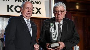 Se entregaron los Konex de Platino al periodismo y la comunicación