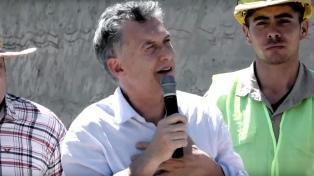 """Macri dijo que el objetivo de su gestión es ayudar a las provincias """"a desarrollarse"""""""