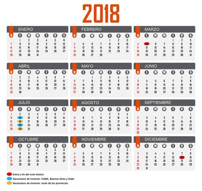 El 5 de marzo iniciarían las clases en 2018