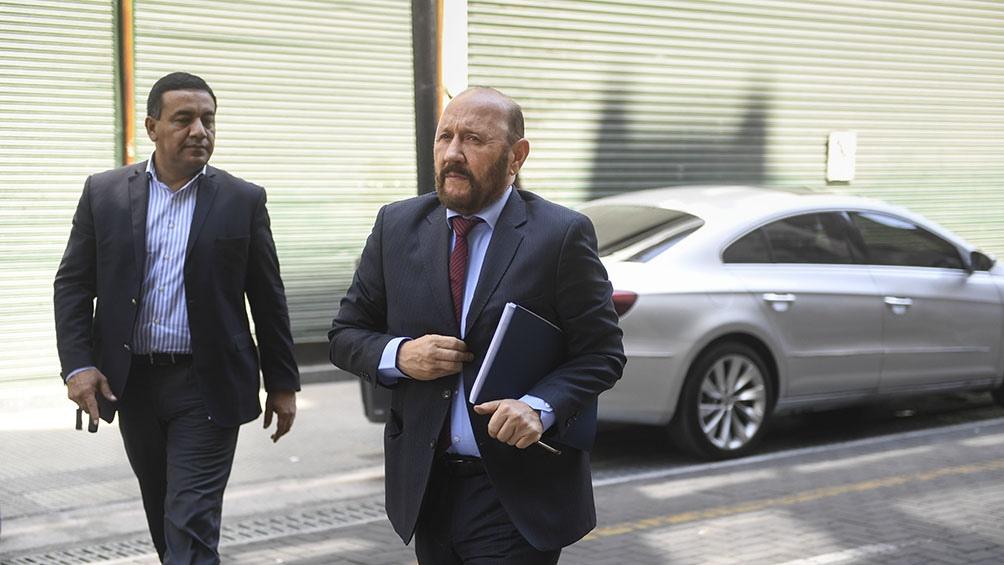 Ciccone: Gildo Insfrán se negó a declarar
