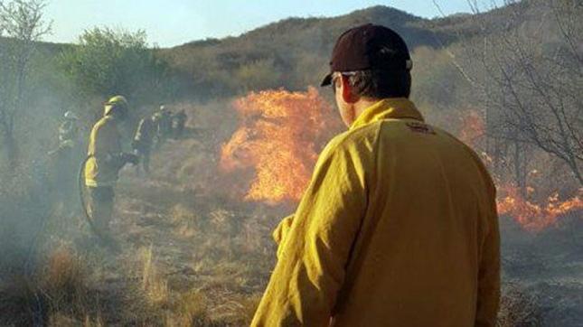 Incendios: En Guasapampa sigue sin llover y se complica el panorama