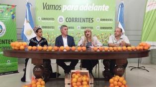 Presentaron la Fiesta Nacional de la Naranja
