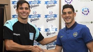 Espinoza y Solari ofrecieron una conferencia conjunta antes Boca-Racing