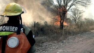 Un incendio forestal quemó 2.500 hectáreas en la provincia