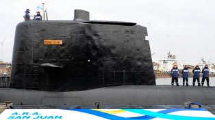 El submarino buscado carga 22 torpedos y funciona a diesel y electricidad