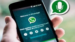 WhatsApp cambia la manera de grabar audios