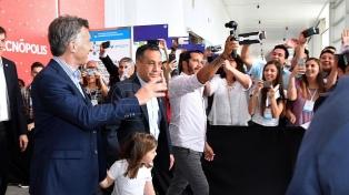 Macri visitó la Feria de Innovación Educativa en Tecnópolis